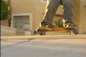 Freebord a twist on skateboarding